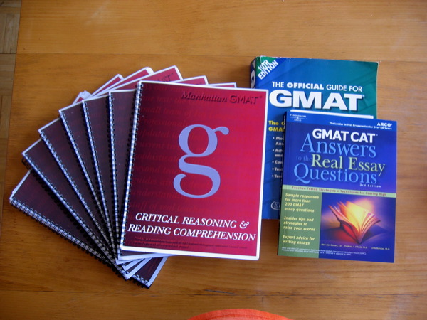 best essay books for gmat